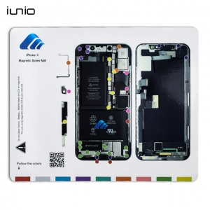 Magnetická podložka na opravu telefonu iPhone X