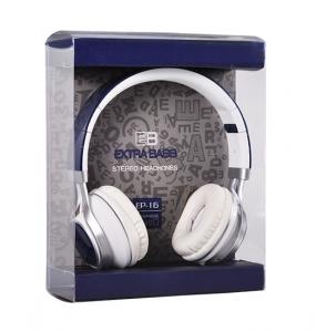 Sluchátka EP-16 Extra BASS barva modrá