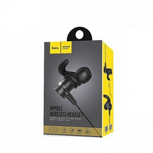 Bluetooth headset HOCO ES8 SPORT barva zlatá/černá