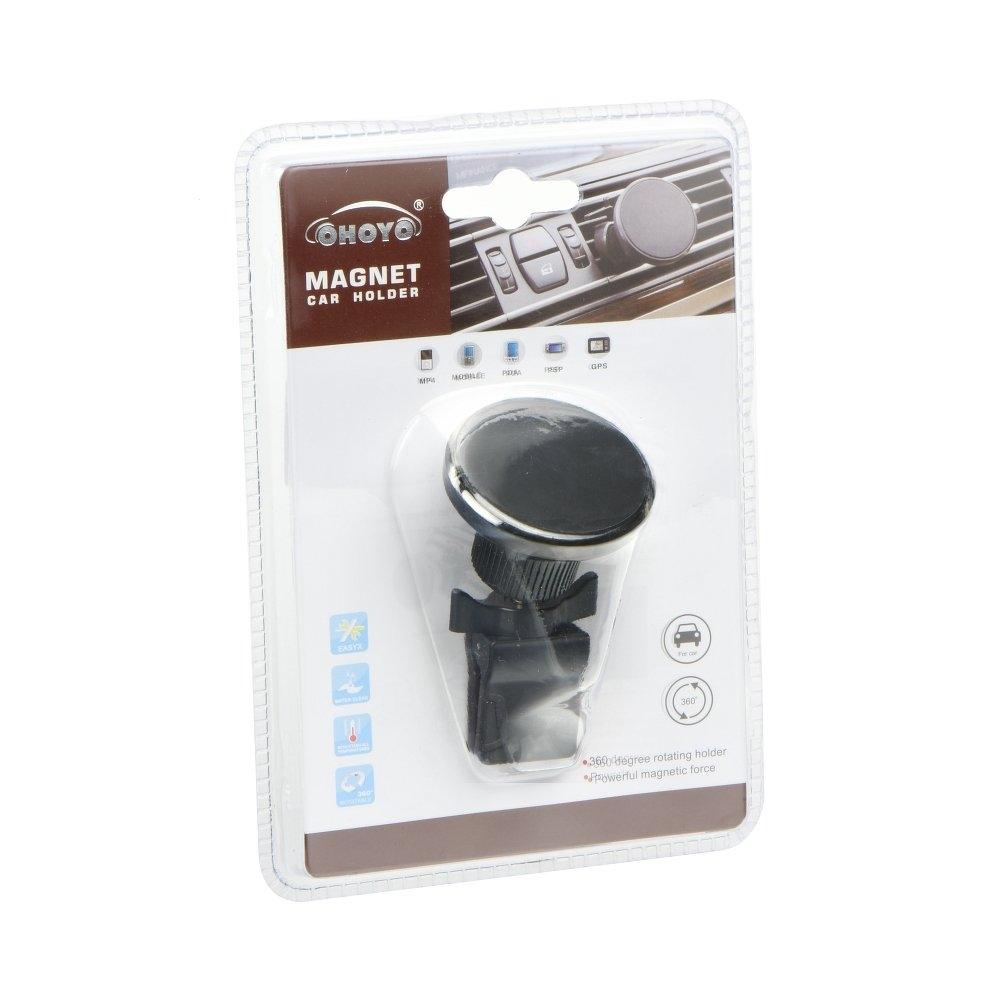 Držák do auta OHOYO Magnet 2305-BH - do mřížky ventilátoru černá