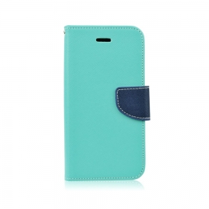 Pouzdro FANCY Diary TelOne Samsung A600F Galaxy A6 Duos barva světle modrá/modrá