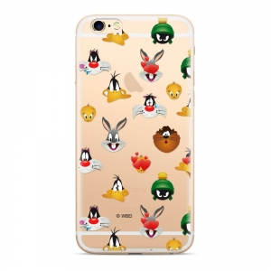 Pouzdro iPhone 5, 5S, 5C, SE Looney Tunes vzor 007