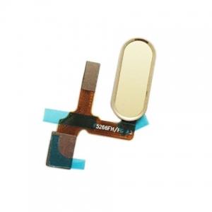 Huawei HONOR 9 flex pásek otisk prstu button zlatá