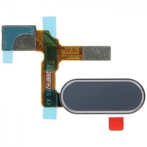 Huawei HONOR 9 flex pásek otisk prstu button stříbrná/šedá