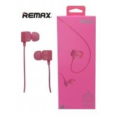 Hands Free REMAX RM-502 3,5 mm jack, barva růžová