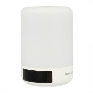Mini reproduktor Bluetooth APOLLO A3 svítící + rádio barva bílá