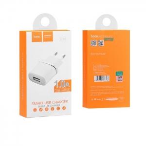 Cestovní nabíječ HOCO C11 USB 1A USB bílá