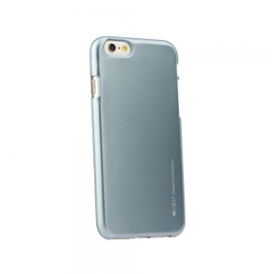 Pouzdro MERCURY i-Jelly Case METAL Samsung A605 Galaxy A6 PLUS (2018) šedá