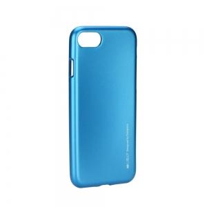 Pouzdro MERCURY i-Jelly Case METAL Samsung A600 Galaxy A6 (2018) modrá