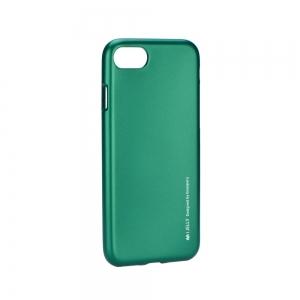 Pouzdro MERCURY i-Jelly Case METAL Samsung A600 Galaxy A6 (2018) zelená
