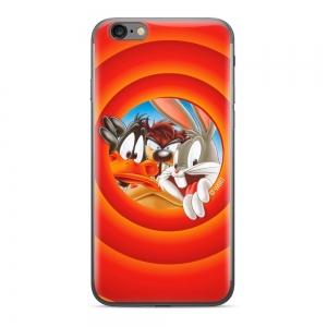 Pouzdro iPhone 5, 5S, 5C, SE Looney Tunes vzor 002