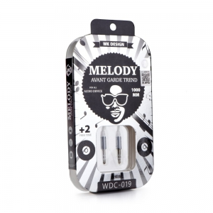 Kabel AUX WK Design Melody jack 3,5mm barva černá