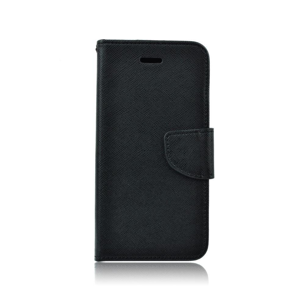 Pouzdro FANCY Diary iPhone XR (6,1) barva černá