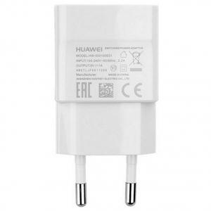 Nabíječ Huawei HW-050100E01 1A micro USB (bulk) bílá originál
