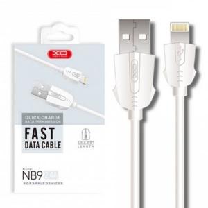 Datový kabel XO Design NB9 iPhone 5, 6, 7, 8, X - 1 metr