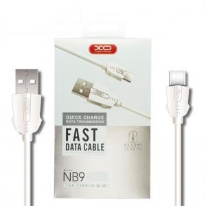 Datový kabel XO Design NB9 micro USB TYP-C - 1 metr