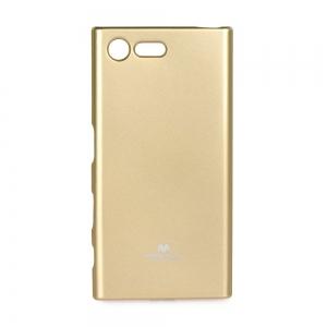 Pouzdro MERCURY Jelly Case Huawei HONOR 10 zlatá