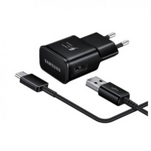 Nabíječ Samsung EP-TA20EBE + kabel EP-DG950CBE - micro USB TYP-C 2A (bulk) černá
