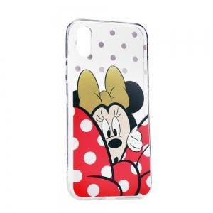 Pouzdro iPhone 5, 5S, 5C, SE Minnie Mouse vzor 015