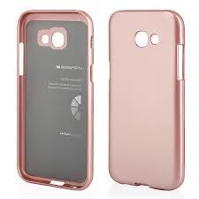 Pouzdro MERCURY i-Jelly Case METAL iPhone XR (6,1) rose gold