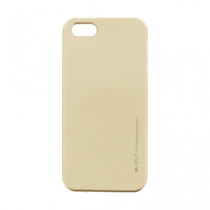 Pouzdro MERCURY i-Jelly Case METAL iPhone XR (6,1) zlatá