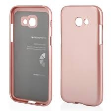 Pouzdro MERCURY i-Jelly Case METAL iPhone XS MAX (6,5) rose gold