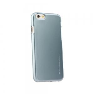 Pouzdro MERCURY i-Jelly Case METAL iPhone XS MAX (6,5) šedá