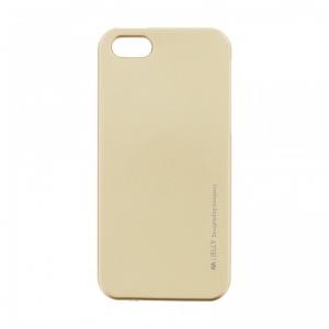 Pouzdro MERCURY i-Jelly Case METAL iPhone XS MAX (6,5) zlatá