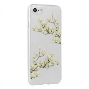 Pouzdro FLORAL Ultra Slim iPhone 6, 6S (4,7) Magnolia