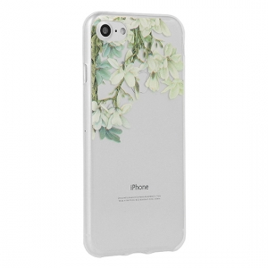 Pouzdro FLORAL Ultra Slim iPhone 6, 6S (4,7) Jasmine