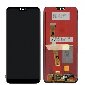 Dotyková deska Huawei HONOR 10 + LCD černá - s HOME buttonem