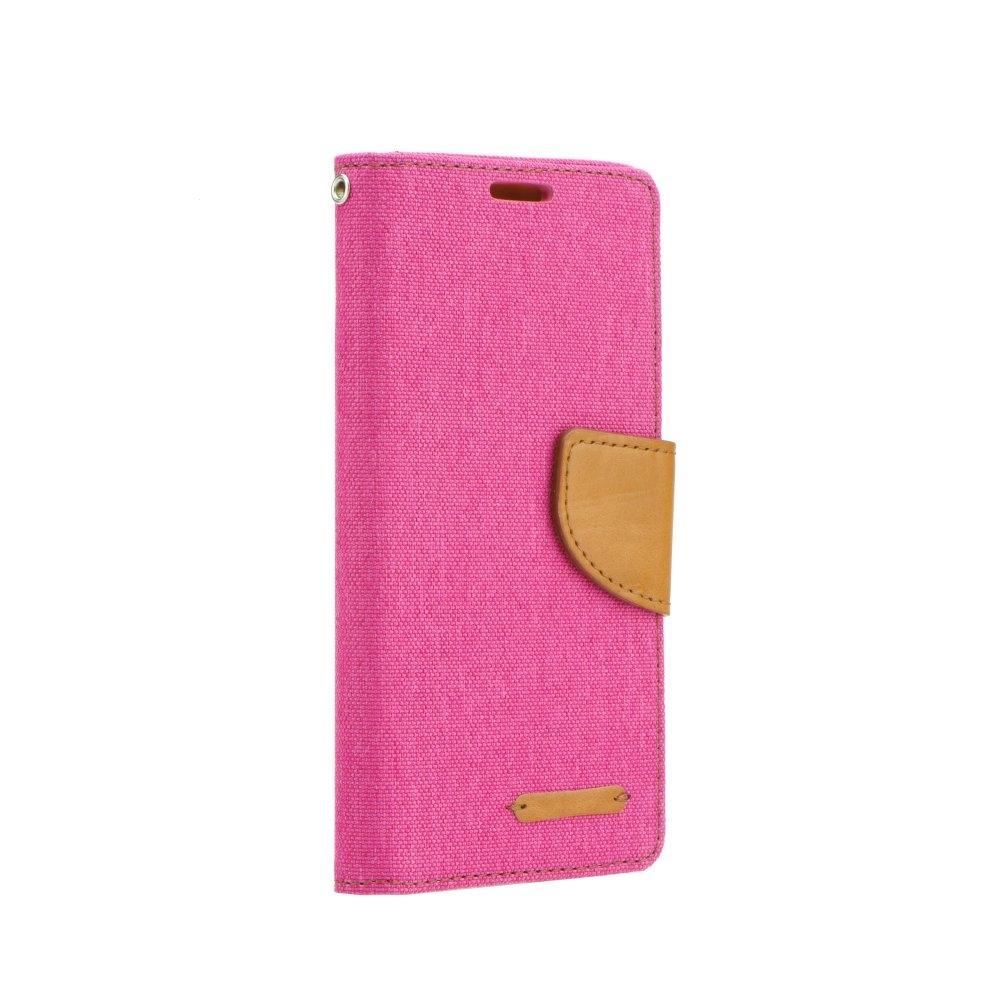 Pouzdro CANVAS Fancy Diary iPhone 5, 5S, 5C, SE růžová