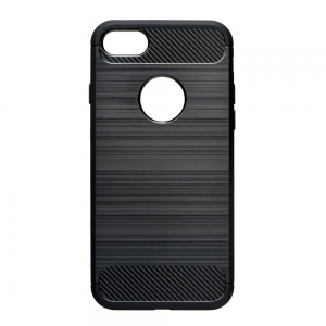 Pouzdro Forcell CARBON iPhone XR (6,1) černá