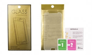 Tvrzené Sklo 9H iPhone XS MAX (6,5) GoldGlass