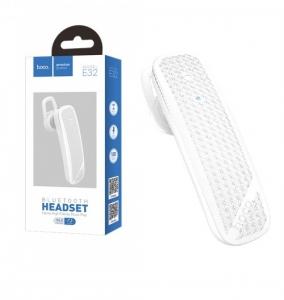 Bluetooth headset HOCO E32 barva bílá