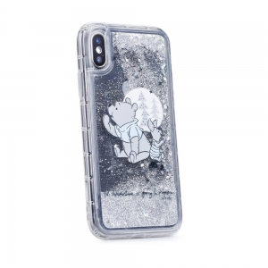 Pouzdro iPhone 5, 5S, 5C, SE Medvídek Pů vzor 008