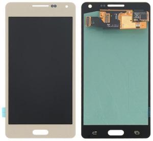 Dotyková deska Samsung A500 Galaxy A5 + LCD zlatá Class A (tloušťka +0,3mm)