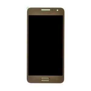 Dotyková deska Samsung A300 Galaxy A3 + LCD zlatá Class A (tloušťka +0,3mm)