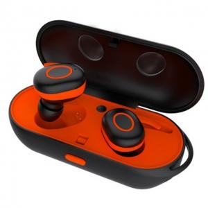 Bluetooth headset AIR TWS barva červená