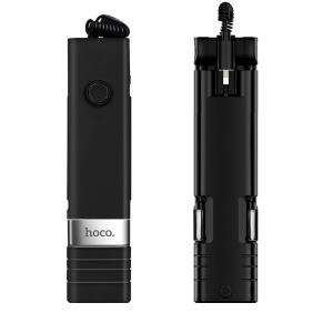 Selfie držák HOCO Beauty K3 barva černá - 3,5mm jack