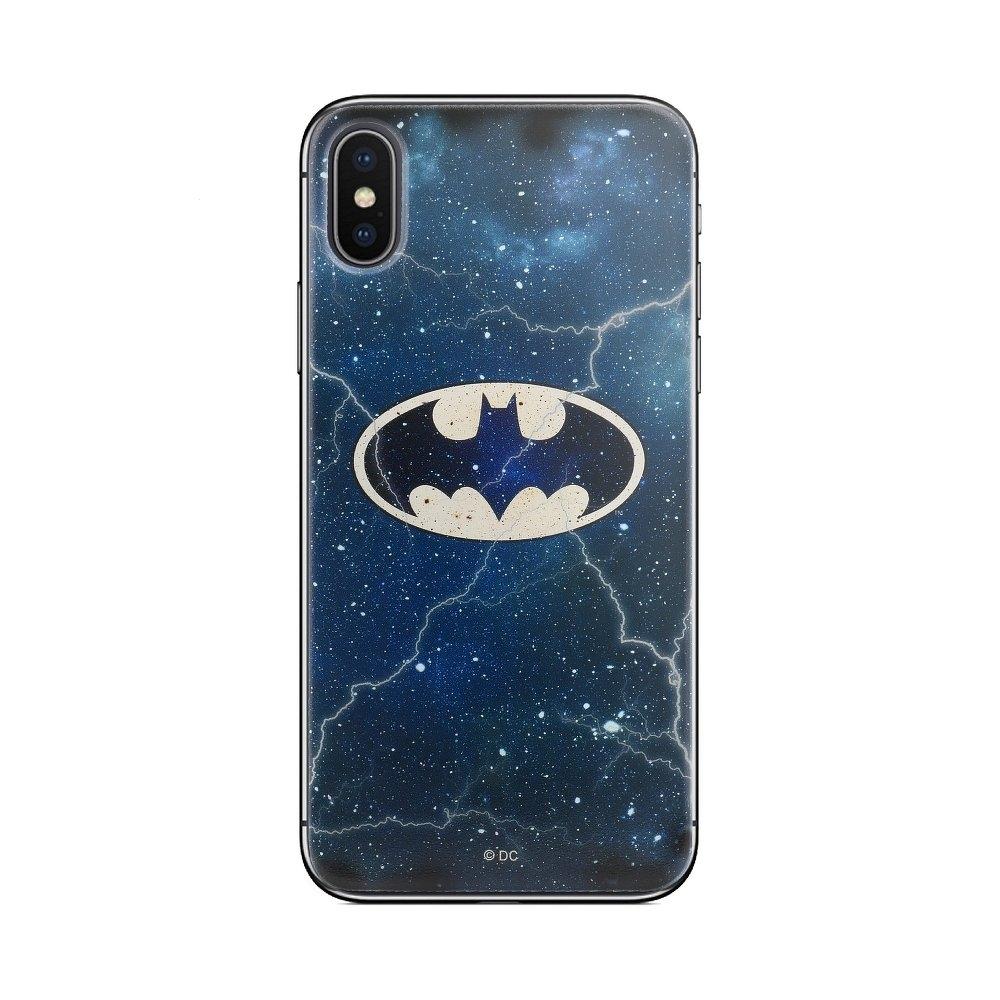 Pouzdro Samsung J600 Galaxy J6 (2018) Batman Navy Blue vzor 003