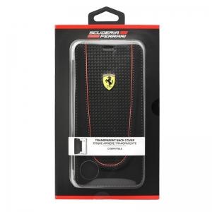 Pouzdro Ferrari iPhone 7 PLUS, 8 PLUS (5,5) Etui Book FEPIFLBKP7LBK černá