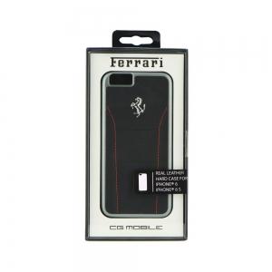 Pouzdro Ferrari iPhone 6, 6S (4,7) Hardcase 488 FESEHCP6BKR černá