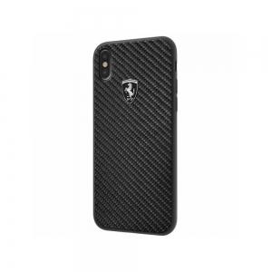 Pouzdro Ferrari iPhone X, XS (5,8) Hardcase FEHCAHCPXBK černá