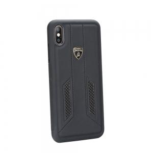Pouzdro Lamborghini iPhone X, XS (5,8) HURACAN-D6 Back Cover LB-TPUPCIPX-HU/D6-BK černá