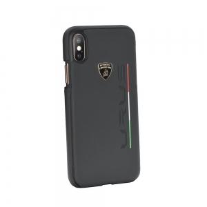 Pouzdro Lamborghini iPhone 7, 8  (4,7) URUS-D2 Back Cover LB-HCIP8-UR/D2-BK černá