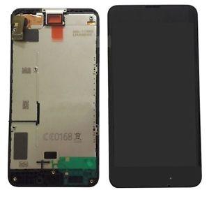 Dotyková deska Nokia 630, 635 Lumia + LCD s předním krytem černá