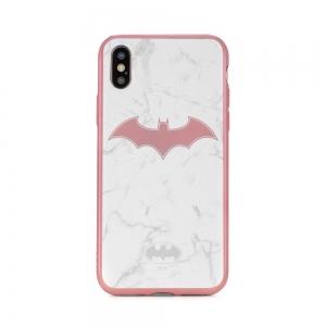 Pouzdro Huawei P20 LITE Batman White Luxory vzor 008