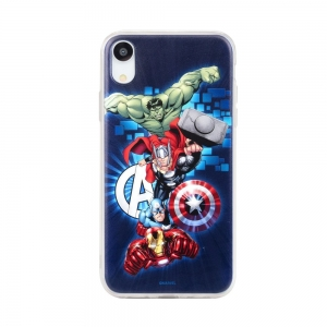 Pouzdro iPhone 5, 5S, SE, 5C MARVEL Avengers vzor 001