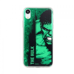 Pouzdro iPhone XR (6,1) MARVEL Hulk vzor 001
